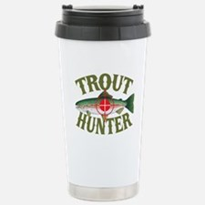 Trout Hunter Stainless Steel Travel Mug