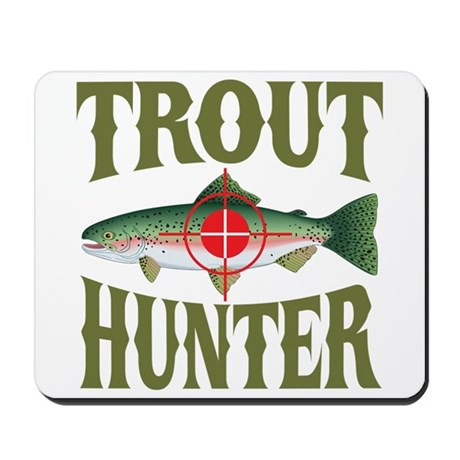 Trout Hunter Mousepad