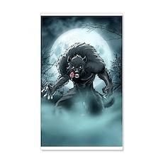 Werewolf's Full Moon Wall Decal