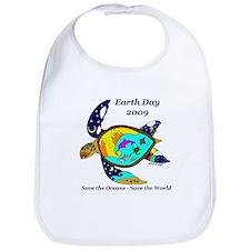 Earth Day Sea Turtle Bib