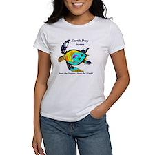 Earth Day Sea Turtle Tee