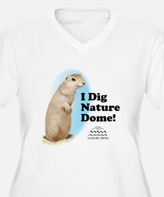 Nature Dome Women Plus Gopher V-Nk Tee
