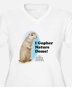 Nature Dome Women Plus Gopher 2 V-Nk Tee