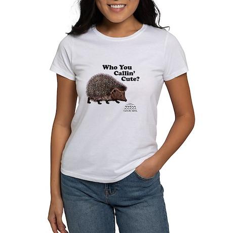 Nature Dome Women Hedgehog T-Shirt