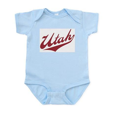Retro Utah Infant Creeper