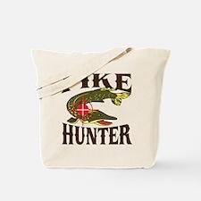 Pike Hunter Tote Bag
