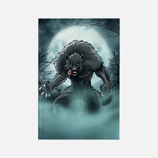 Werewolf's Full Moon Magnets