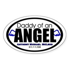 Custom for Danielle Oval Stickers