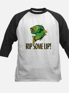 Rip Some Lip Kids Baseball Jersey