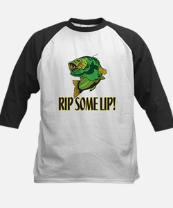 Fishing kid 39 s clothing fishing kid 39 s shirts hoodies for Rip a lip fish wear
