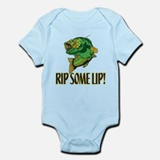 Fishing tackle baby clothes gifts baby clothing for Rip a lip fish wear