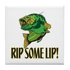 Rip Some Lip Tile Coaster
