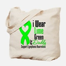 Lymphoma Heart Daddy Tote Bag