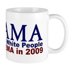 Obama Hates White People Mug