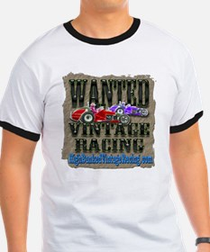 Wanted Vintage Racing T