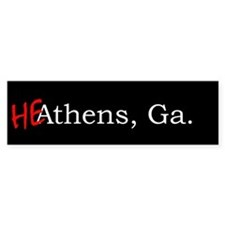 HeAthens bumper sticker