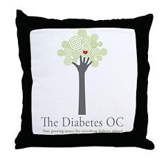 Diabetes OC Throw Pillow