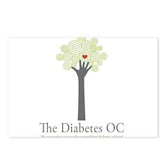 Diabetes OC Postcards (Package of 8)