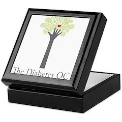 Diabetes OC Keepsake Box