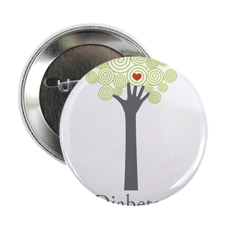 "Diabetes OC 2.25"" Button (100 pack)"