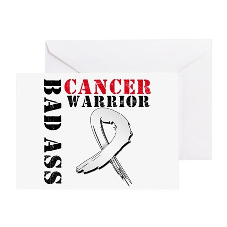 Lung Cancer Warrior Greeting Card