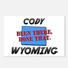 cody wyoming - been there, done that Postcards (Pa
