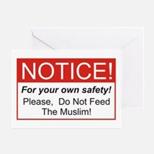 Notice / Muslim Greeting Card