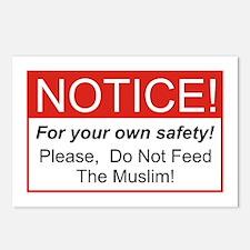 Notice / Muslim Postcards (Package of 8)