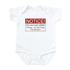 Notice / Muslim Infant Bodysuit