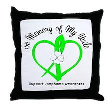 Lymphoma Memory Uncle Throw Pillow