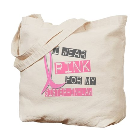 I Wear Pink For My Sister-In-Law 37 Tote Bag