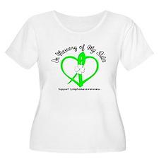 Lymphoma Memory Sister T-Shirt