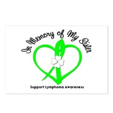 Lymphoma Memory Sister Postcards (Package of 8)
