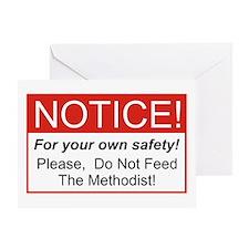 Notice / Methodist Greeting Card