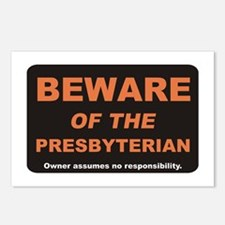 Beware / Presbyterian Postcards (Package of 8)