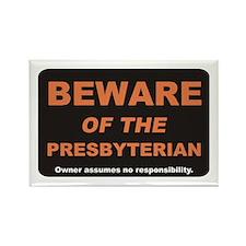 Beware / Presbyterian Rectangle Magnet