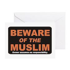 Beware / Muslim Greeting Card