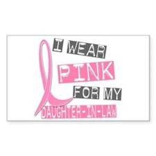 I Wear Pink For My Daughter-In-Law 37 Decal