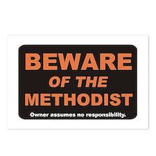 Beware / Methodist Postcards (Package of 8)