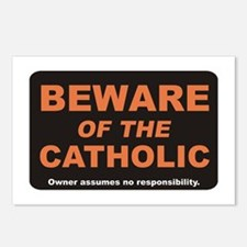 Beware / Catholic Postcards (Package of 8)