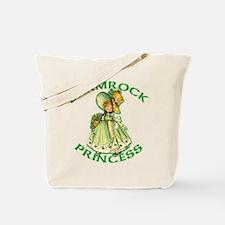 Shamrock Princess Irish Tote Bag