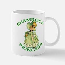 Shamrock Princess Irish Mug