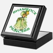 Shamrock Princess Irish Keepsake Box