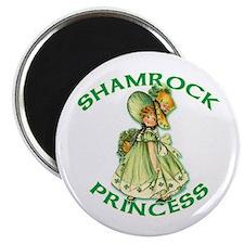 """Shamrock Princess Irish 2.25"""" Magnet (10 pack)"""