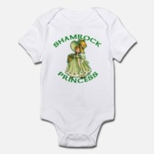 Shamrock Princess Irish Infant Bodysuit
