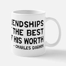 Quote - Darwin - Worth Mug