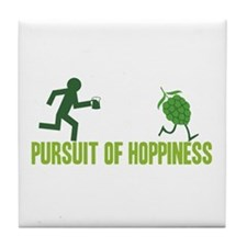 Pursuit of Hoppiness Tile Coaster