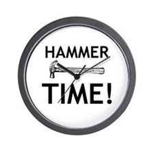 Hammer Time! Wall Clock