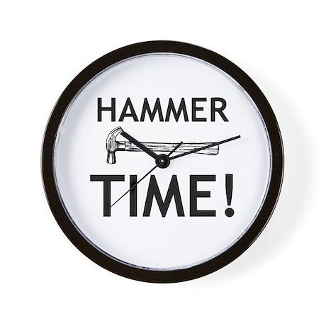 Hammer Time! Wall Clock