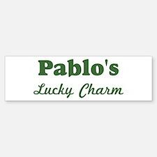 Pablos Lucky Charm Bumper Bumper Bumper Sticker